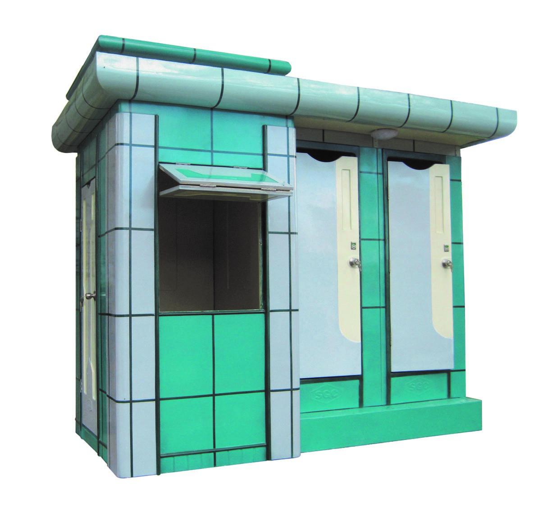 Nhà vệ sinh công cộng Phố Đô 3A