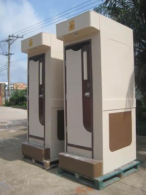 Nhà vệ sinh di động công trình 1C